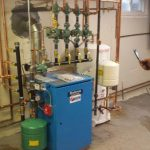 "Oil to gas conversion with ""in-direct"" hot water and boiler"
