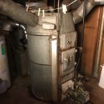 Uniondale, NY Oil to Gas Warm Air Conversion - Before
